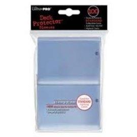 Card sleeves 100 66X91 - Clear