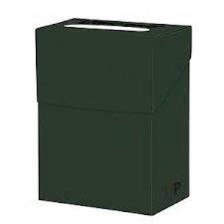 Boîte de rangement pour cartes - Vert forêt
