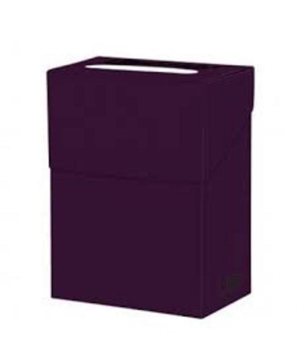 Boîte de rangement pour cartes - Prune