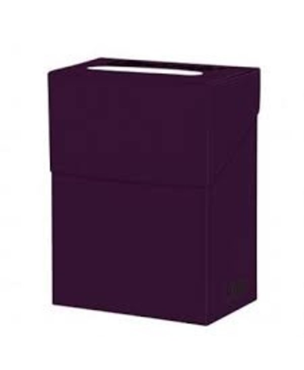 Deck box - plum