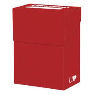 Boîte de rangement pour cartes - Rouge