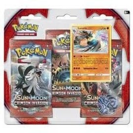 Pokemon company Pokemon SM4 Crimson invasion 3 pk blister