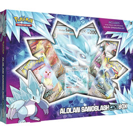Pokemon company POKEMON ALOLAN SANDSLASH GX BOX
