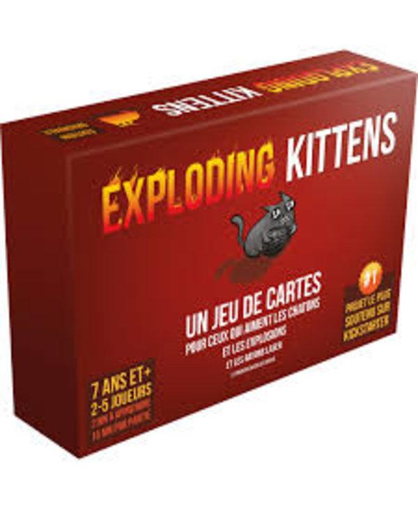 Exploding Kittens - Francais