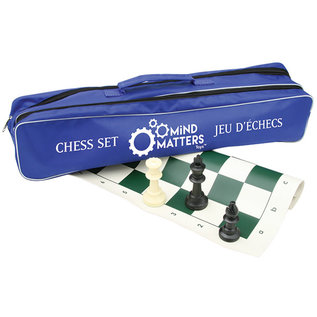Mind Matters Chess Set in a canvas bag