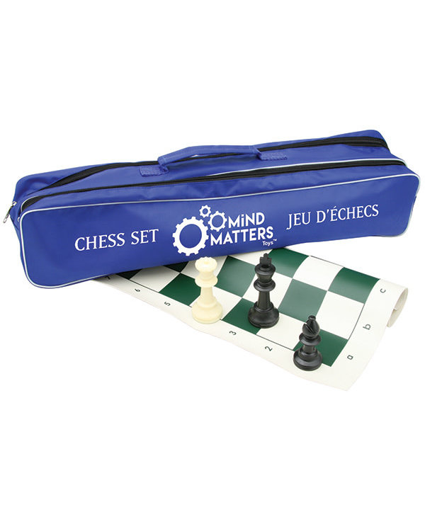 Chess Set in a canvas bag