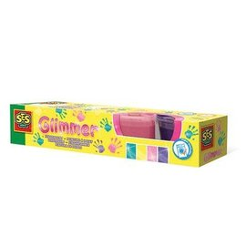 SES Glimmer Finger Paints - 4x110ml
