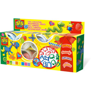 SES Claymania 8x90gr + cutters