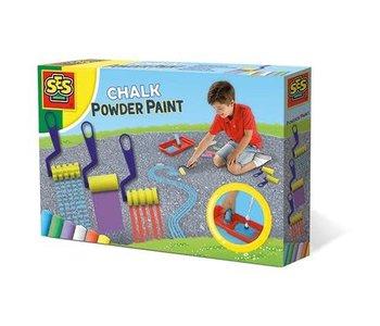 Chalk powder paint