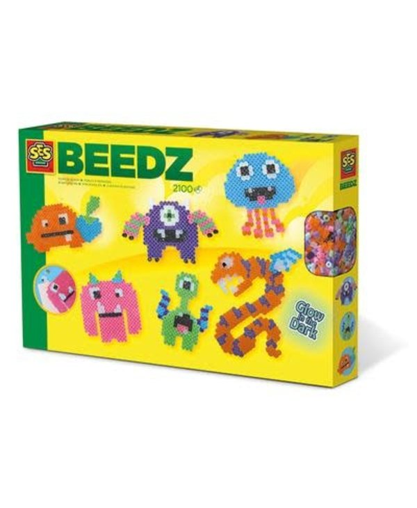 Beedz - Iron on beads Glow in the dark monsters