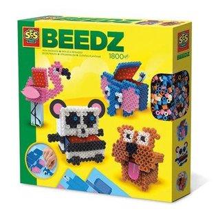 SES Beedz - Iron on beads 3D animals