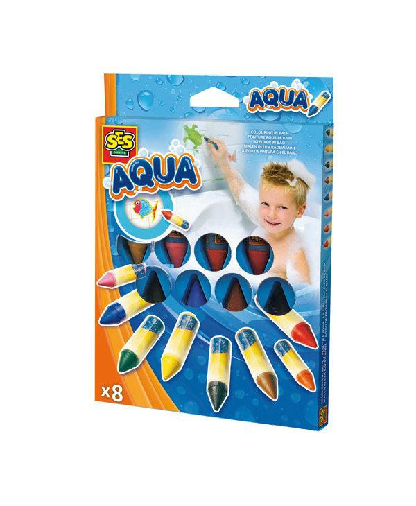 Aqua Crayon Bain