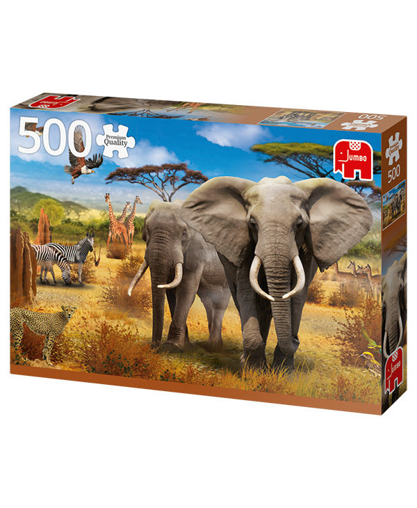 PZ500 pcs, African Savannah