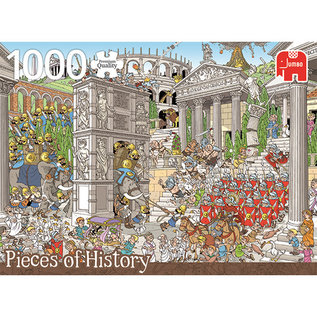 Jumbo PZ1000 Romans, Pieces of history