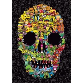 Heye PZ1000 Doodle Skull, Burgerman
