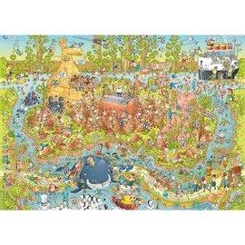 Heye PZ1000 Australian habitat, Funky Zoo