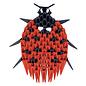 CreativaMente Creagami Ladybug