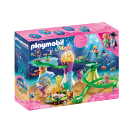 Playmobil Pavillon de corail & dome lumineux 70094