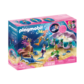 Playmobil Coquillage lumineux avec sirènes 70095