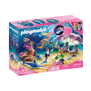 Playmobil Coquillage lumineux avec sirenes 70095