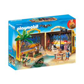 Playmobil Coffre des pirates transportable 70150