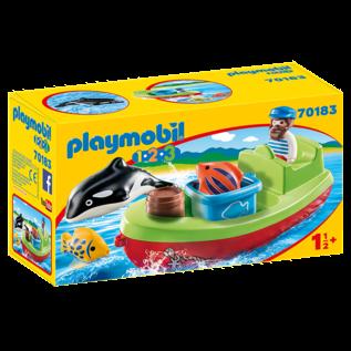 Playmobil Bateau et pecheur 70183