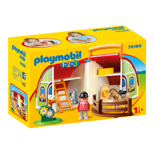 Playmobil Centre équestre transportable 70180
