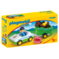 Playmobil Cavaliere avec voiture & remorque 70181