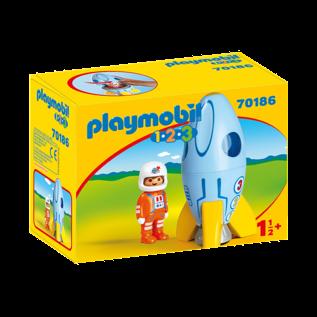 Playmobil Astronaute et fusée 70186