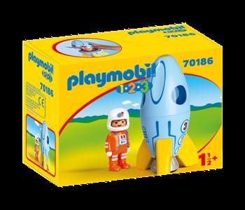Astronaute et fusée 70186