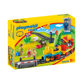 Playmobil Train avec passagers & circuit 70179