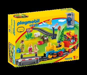 Train avec passagers & circuit 70179