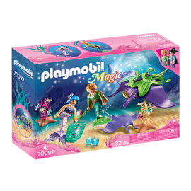 Playmobil Chercheurs de perles & raies 70099