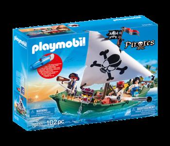 Chaloupe des pirates & moteur 70151