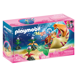 Playmobil Sirene avec escargot des mers 70098