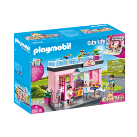 Playmobil Salon de thé 70015