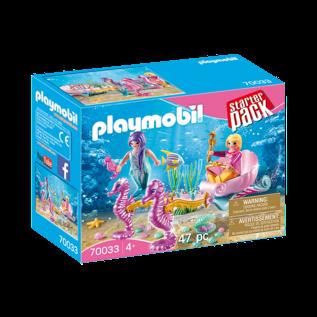 Playmobil StarterPack Sirènes avec carrosse 70033