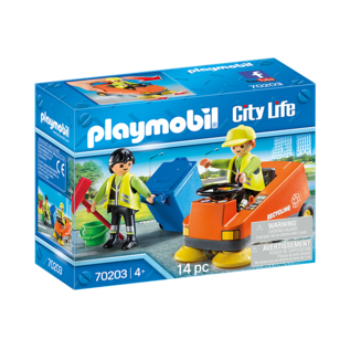 Playmobil Agent d'entretien de la voirie 70203