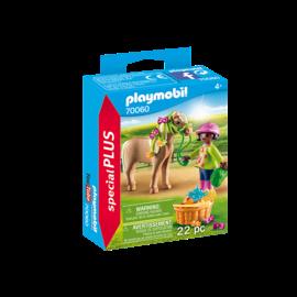 Playmobil Cavalière avec poney 70060