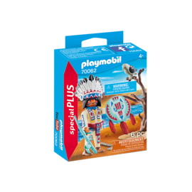 Playmobil Chef de tribu autochtone 70062