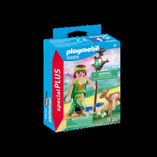 Playmobil Nymphe et faon 70059