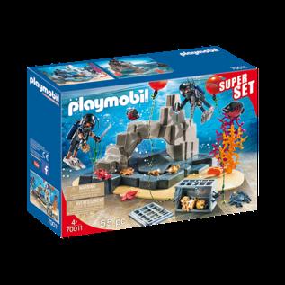 Playmobil SuperSet Unité de plongée sous-marine 70011