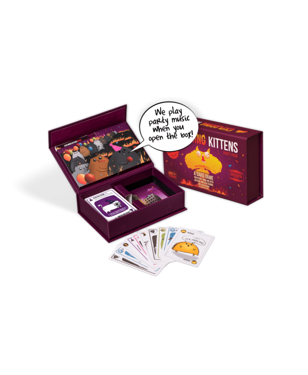 EXPLODING KITTENS: PARTY PACK (Eng)