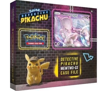 Pokemon detective Pikachu Mewtwo GX box