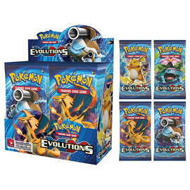 Pokemon company POKEMON XY EVOLUTIONS BOOSTER