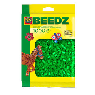 SES Beads 1000 pieces green