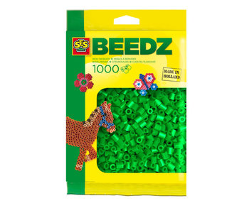 Beads 1000 pieces green