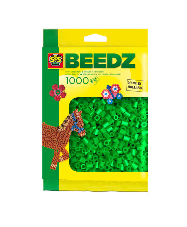 1000 Perles vertes
