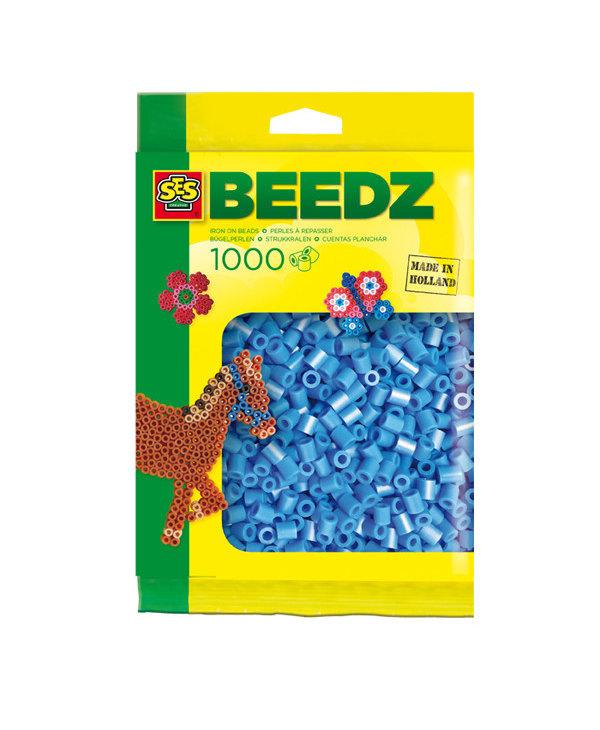 1000 Perles bleu ciel