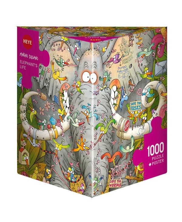 PZ1000 - Elephant's life